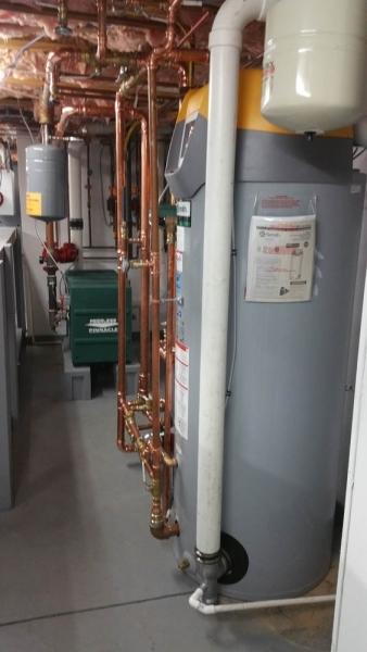High efficient wh & boiler