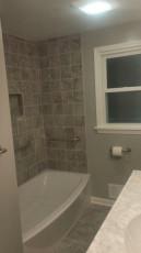 Bathtub Installation After