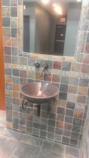 Vessel Sink wall mounted