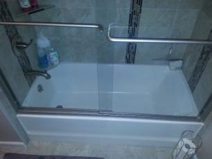 New bathtub installation