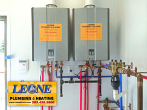 Rinnai Tankless Water Heater Installation by Leone Plumbing