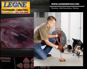 Sewer Camera Inspection By Leone Plumbing