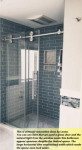 Small bathroom remodel ideas by Leone