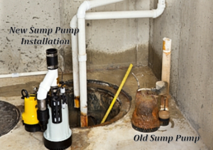 Sump Pump Replacement Service by Leone Plumbing