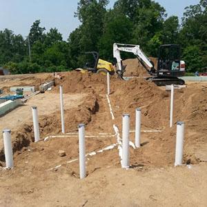 Commercial New work plumbing