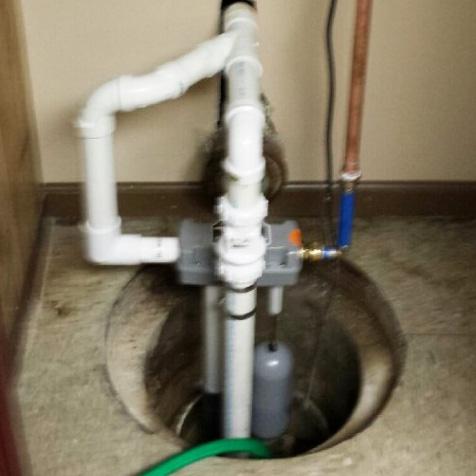 sump pump water powered backup