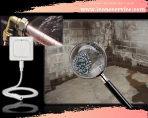 water leak detector installation by Leone Plumbing